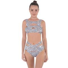 Mosaic Linda 6 Bandaged Up Bikini Set