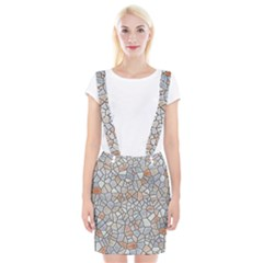 Mosaic Linda 6 Braces Suspender Skirt