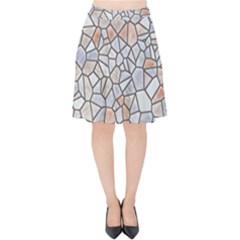 Mosaic Linda 6 Velvet High Waist Skirt