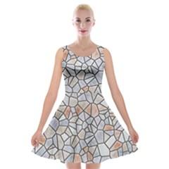 Mosaic Linda 6 Velvet Skater Dress