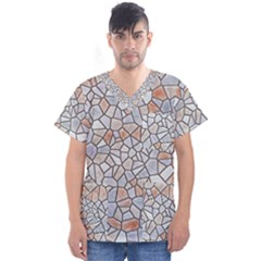 Mosaic Linda 6 Men s V Neck Scrub Top