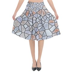 Mosaic Linda 6 Flared Midi Skirt