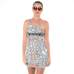 Mosaic Linda 6 One Soulder Bodycon Dress