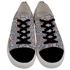 Mosaic Linda 6 Men s Low Top Canvas Sneakers