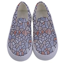 Mosaic Linda 6 Kids  Canvas Slip Ons