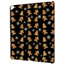 Ginger cookies Christmas pattern Apple iPad Pro 12.9   Hardshell Case View3