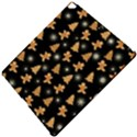 Ginger cookies Christmas pattern Apple iPad Pro 12.9   Hardshell Case View5