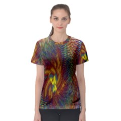 Fire New Year S Eve Spark Sparkler Women s Sport Mesh Tee
