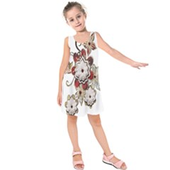 Gems Gemstones Jewelry Jewel Kids  Sleeveless Dress