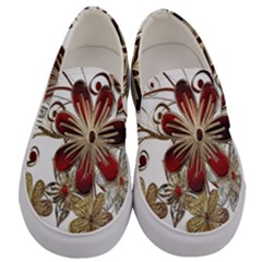 Gemstones Gems Jewelry Diamond Men s Canvas Slip Ons