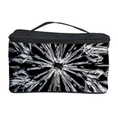 Ice Crystal Ice Form Frost Fabric Cosmetic Storage Case
