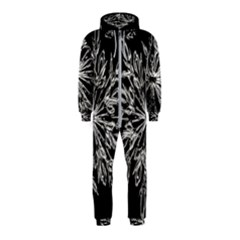Ice Crystal Ice Form Frost Fabric Hooded Jumpsuit (kids)