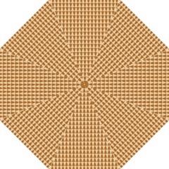 Pattern Gingerbread Brown Golf Umbrellas