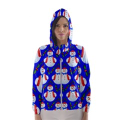 Seamless Repeat Repeating Pattern Hooded Wind Breaker (women)
