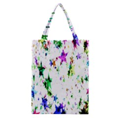 Star Abstract Advent Christmas Classic Tote Bag