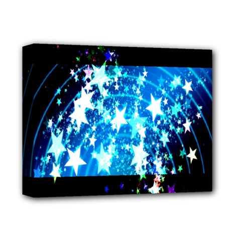 Star Abstract Background Pattern Deluxe Canvas 14  X 11