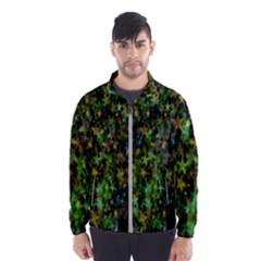 Star Abstract Advent Christmas Wind Breaker (men)