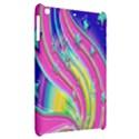Star Christmas Pattern Texture Apple iPad Mini Hardshell Case View2