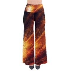 Star Sky Graphic Night Background Pants