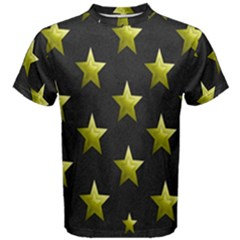 Stars Backgrounds Patterns Shapes Men s Cotton Tee