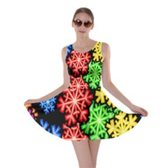 Wallpaper Background Abstract Skater Dress