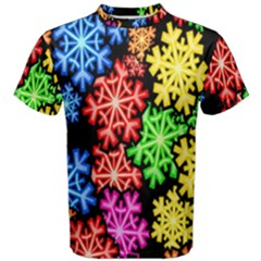 Wallpaper Background Abstract Men s Cotton Tee