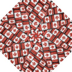 Canadian Flag Motif Pattern Hook Handle Umbrellas (medium)