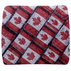 Canadian Flag Motif Pattern Back Support Cushion