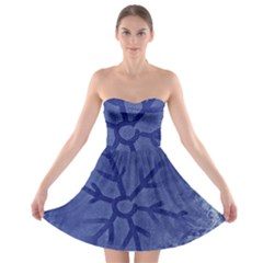 Winter Hardest Frost Cold Strapless Bra Top Dress