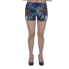 Iron Glass Space Light Skinny Shorts