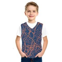 Virginia Map Art City Kids  Sportswear