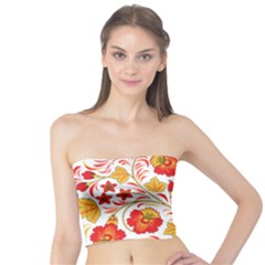 Wreaths Flower Floral Sexy Red Sunflower Star Rose Tube Top
