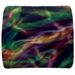 Abstract Shiny Night Lights 3 Back Support Cushion