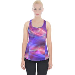 Abstract Shiny Night Lights 14 Piece Up Tank Top