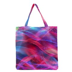 Abstract Shiny Night Lights 18 Grocery Tote Bag