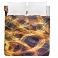 Abstract Shiny Night Lights 19 Duvet Cover Double Side (queen Size)