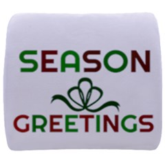 Season Greetings Back Support Cushion