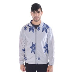 Star Snow Blue Rain Cool Wind Breaker (men)