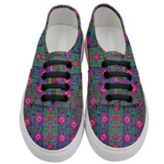 Flowers From Paradise Colors And Star Rain Women s Classic Low Top Sneakers