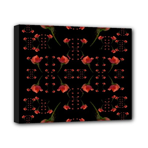 Roses From The Fantasy Garden Canvas 10  X 8
