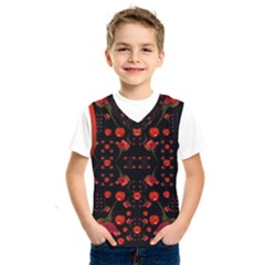 Pumkins And Roses From The Fantasy Garden Kids  Sportswear