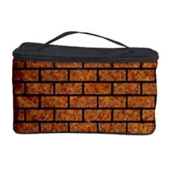 Brick1 Black Marble & Rusted Metal Cosmetic Storage Case