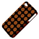 CIRCLES1 BLACK MARBLE & RUSTED METAL (R) Apple iPhone 4/4S Hardshell Case (PC+Silicone) View4