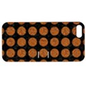 CIRCLES1 BLACK MARBLE & RUSTED METAL (R) Apple iPhone 5 Hardshell Case with Stand View1