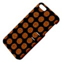 CIRCLES1 BLACK MARBLE & RUSTED METAL (R) Apple iPhone 5 Hardshell Case with Stand View4