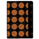 CIRCLES1 BLACK MARBLE & RUSTED METAL (R) iPad Mini 2 Flip Cases View2