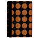 CIRCLES1 BLACK MARBLE & RUSTED METAL (R) iPad Mini 2 Flip Cases View4