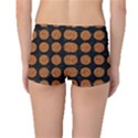 CIRCLES1 BLACK MARBLE & RUSTED METAL (R) Boyleg Bikini Bottoms View2