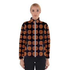 Circles1 Black Marble & Rusted Metal (r) Winterwear