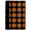 CIRCLES1 BLACK MARBLE & RUSTED METAL (R) Apple iPad Pro 12.9   Flip Case View4